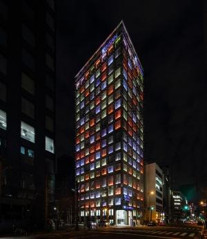 ライトアップの一例(写真提供:近畿産業信用組合)