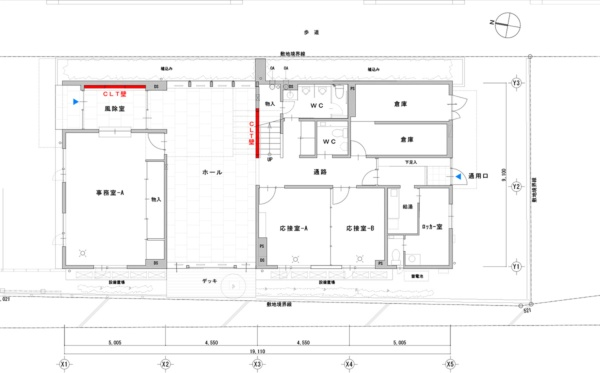 1階平面図(資料:加藤設計)