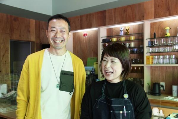 山下勝巳さんと信乃さん