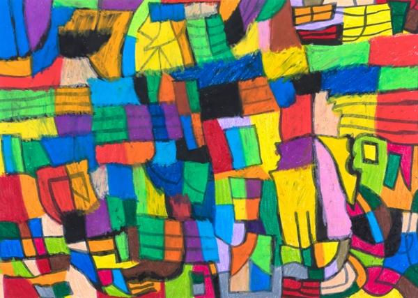 MDシールに用いられた岩手県釜石市出身のアーティスト・小林悟さんの作品(るんびにい美術館所蔵/岩手県)(画像・写真提供:ヘラルボニー)