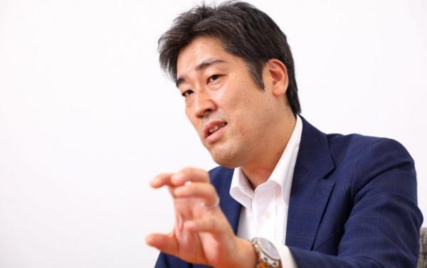 アイサンテクノロジーの佐藤直人取締役(写真:北山宏一)