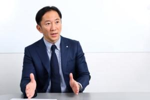 日の丸交通の富田和孝代表取締役社長(写真:北山宏一)