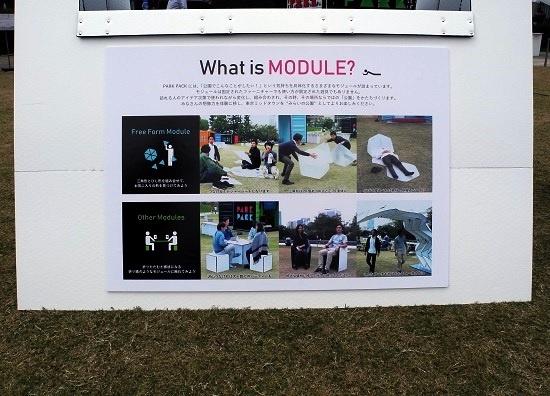 (写真2)大きく2種類の「モジュール」が用意された。レジャーシートやボール代わりとして、またテーブルやいすなどとして使うことができる(写真:茂木俊輔)