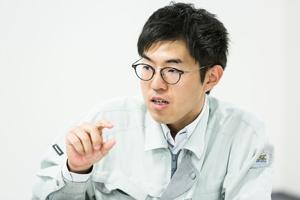 パナソニック エナジーデバイス事業部 商品技術第二部 ウエアラブル電池開発課 末弘 祐基氏