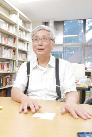 東京大学農学生命科学研究科の川島博之准教授。著書に『「作りすぎ」が日本の農業をダメにする』『「食糧自給率」の罠』など多数 (写真:高山和良)