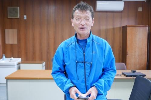 近畿大学水産研究所所長 升間主計教授(写真:高山和良)