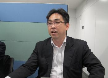 日本ジビエ振興協会事務局の石毛俊治氏(写真:編集部)
