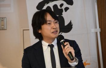 味香り戦略研究所 研究開発部 主任研究員の高橋貴洋氏(写真:編集部)