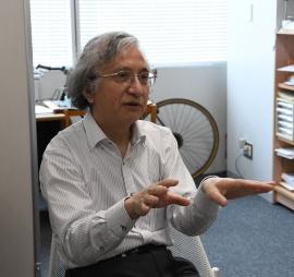東京電機大学システムデザイン工学部教授の武川直樹氏