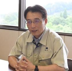 タキイ種苗 研究農場副農場長の福岡浩之さん(写真:編集部)