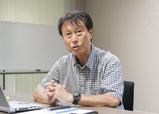 パナソニック アプライアンス社副社長兼キッチン空間事業部長の堂埜茂氏(写真:高山和良)