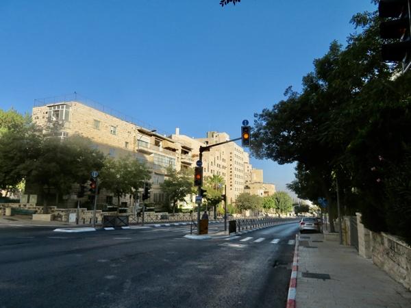 ロックダウン中のエルサレムの様子(撮影:松井葉月)