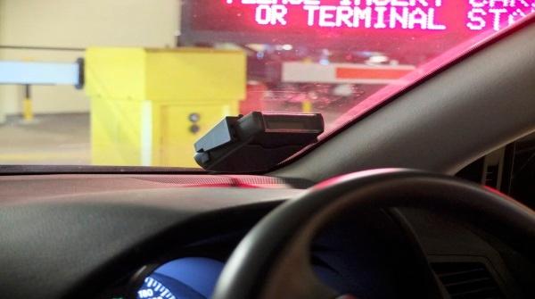 (写真1)シンガポールでロードプライシングに利用されているERPシステム
