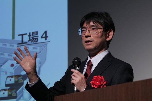 ImPACTプログラムでファクトリーセキュリティの研究を担当した米田 健氏
