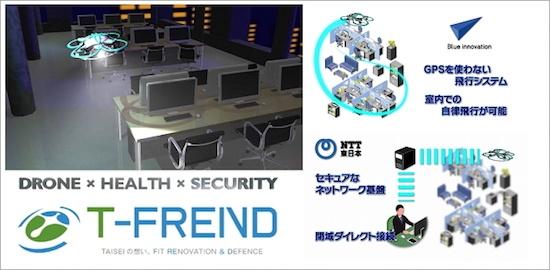 (図1)T-FRENDのサービスイメージ