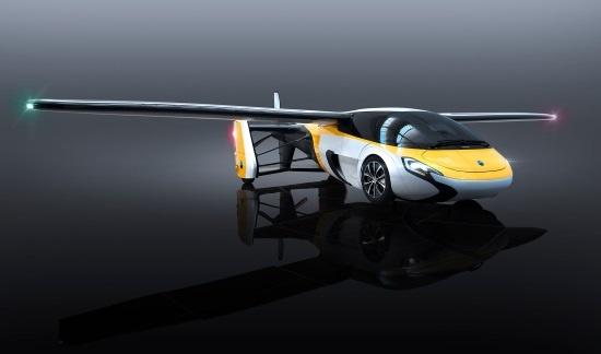 (写真1)AeroMobilのプロトモデル「AeroMobil 4.0」