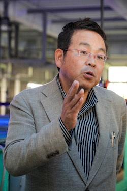 (写真1)岡山理科大学 工学部 バイオ・応用化学科 准教授の山本俊政氏