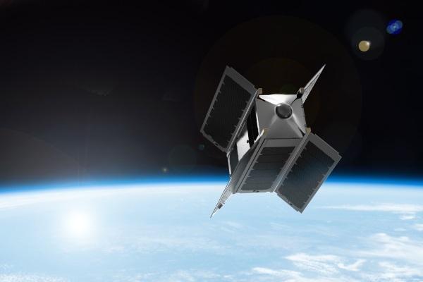 (写真6)SpaceVRのVRカメラ衛星「Overview 1」の予想図(SpaceVRのホームページより引用)