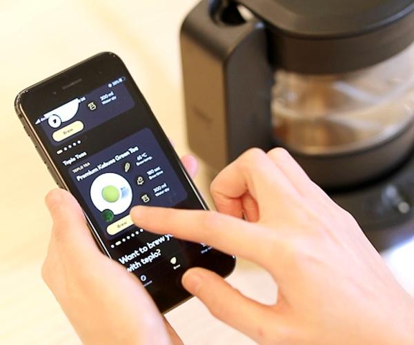 初心者もプロもうなるお茶を――「スマートティーポット」が拓く新しい茶葉市場