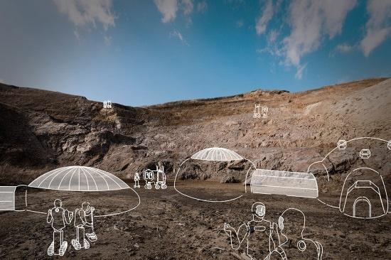 (写真3)宇宙環境を模した実験も大分県で行われる