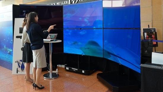 (写真4)アバターで沖縄美ら海水族館を楽しむサービス