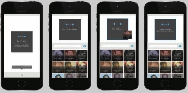 (図1)Augmented Eternityが提供するアプリケーションのサンプル(MITメディアラボのWebページより引用)