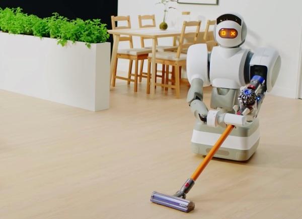 (写真3)Aeolus Roboticsが開発した家事手伝いロボット