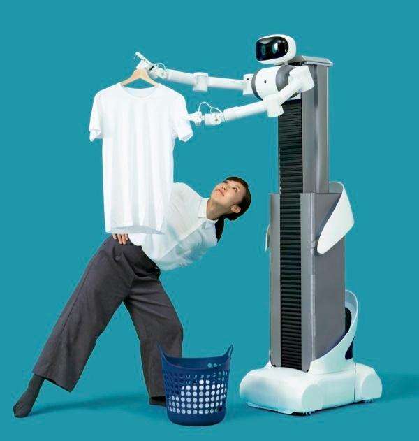 (写真4)Mira Roboticsがサービス導入を計画している家政婦代行ロボット