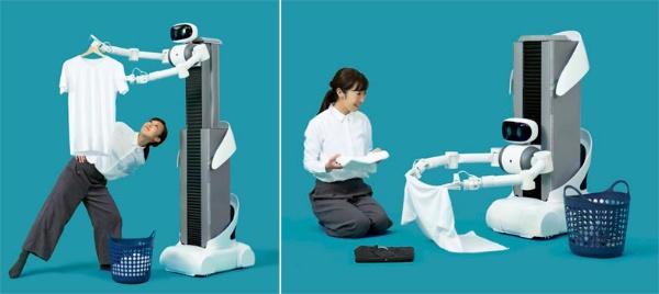 (写真4)Mira Roboticsがサービス導入を計画している家政婦代行のアバターロボット(ugoのプレスリリース素材より一部加工)