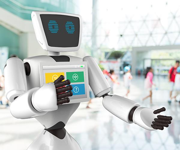 広がるおもてなしロボット お酒やコーヒーを入れて人間の代わりに接客