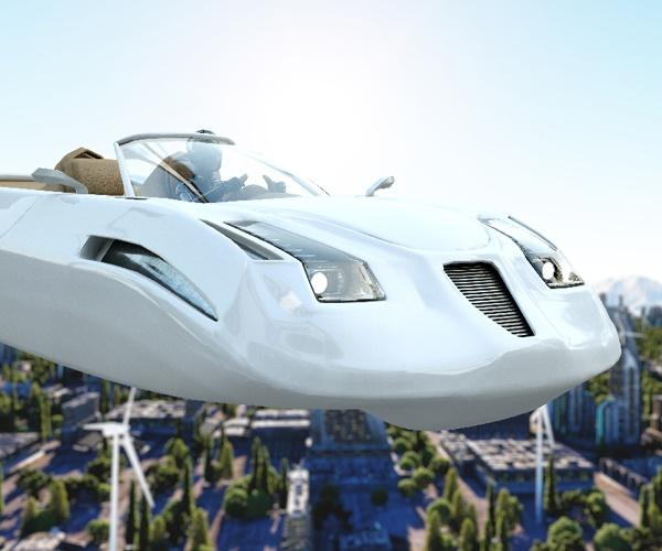 空を飛んでどこにでも移動できる 未来のクルマがまた一歩現実に近づく