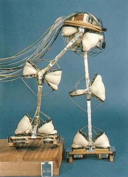 (写真1)早稲田大学で開発された二足歩行ロボット「WAP-3」(早稲田大学ヒューマノイド研究所のWebサイトより引用)