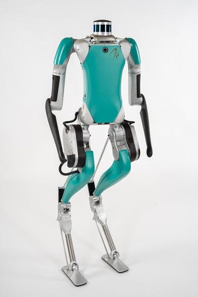 (写真3)2020年7月から出荷を開始したAgility Roboticsの人型二足歩行ロボット「Digit」(Agility RoboticsのWebサイトから引用)