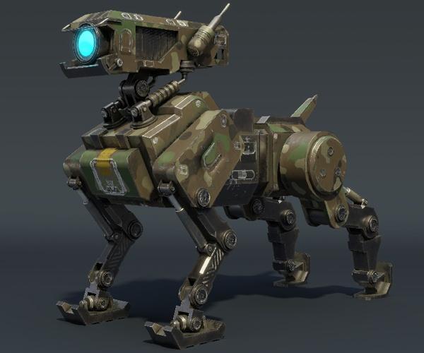 中型犬のような四足歩行ロボット 公園管理や建設現場などで活用広がる
