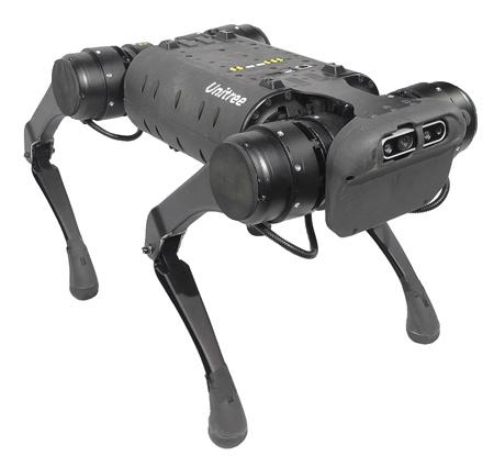 (写真2)Unitree Roboticsが開発した四足歩行ロボット「Unitree A1」(TechShareのホームページより引用)