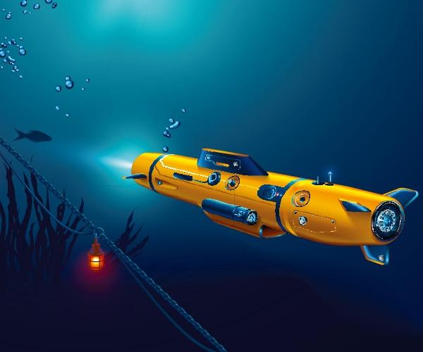 果てしなく広がる海に潜む可能性を 水中で活躍するロボットが探求する