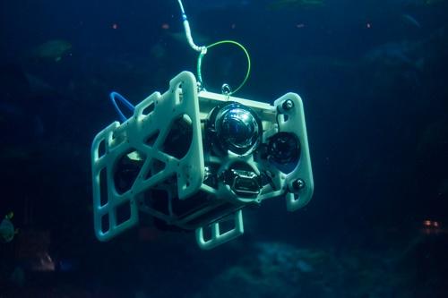 (写真3)Fulldepthの産業用水中ドローン「DiveUnit 300」(写真提供:FullDepth)