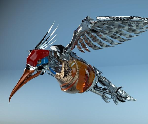 自由に空を飛ぶ鳥型ロボット 飛行機やドローンでは難しい課題も克服