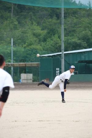 最速152キロの右腕・谷岡投手