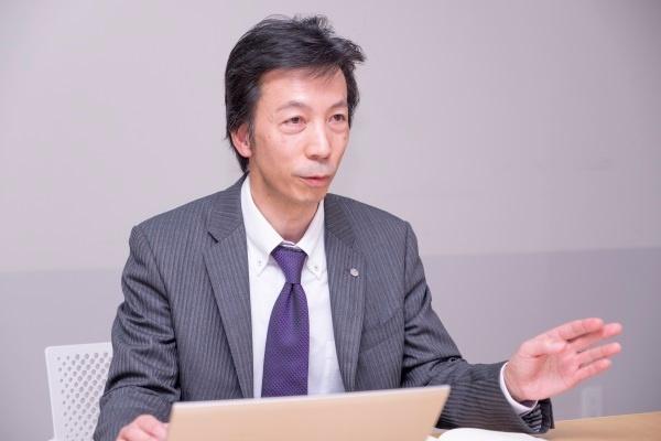 花王加工・プロセス開発研究所 グループリーダーの東城武彦氏