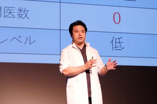 T-ICU 代表取締役社長の中西智之氏