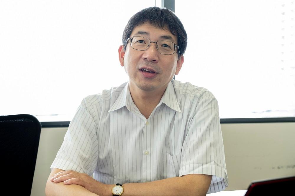 神戸市スタートアップ支援のキーパーソン、多名部氏(写真:小口正貴)