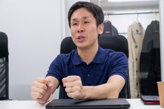 ギフモ代表取締役社長の森實氏(写真:小口正貴)