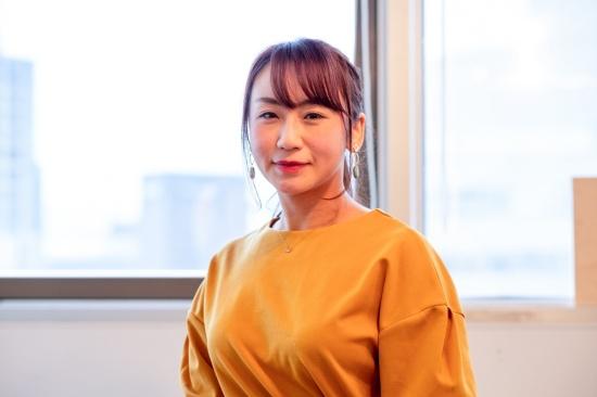 HERBIO 代表取締役の田中彩諭理氏(写真:小口正貴、以下同)