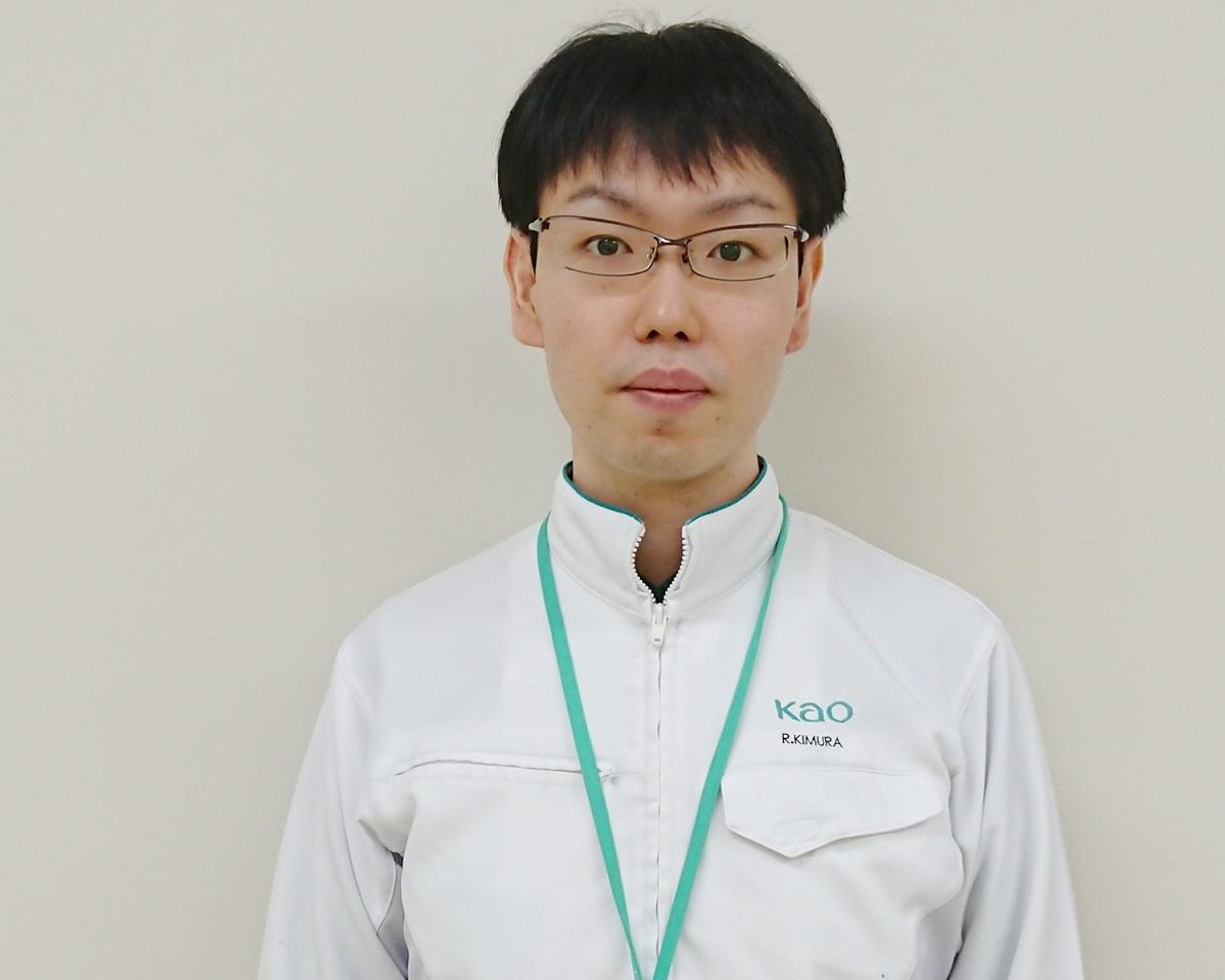 花王の木村氏。栃木にある研究所とオンラインで取材した(提供:花王)
