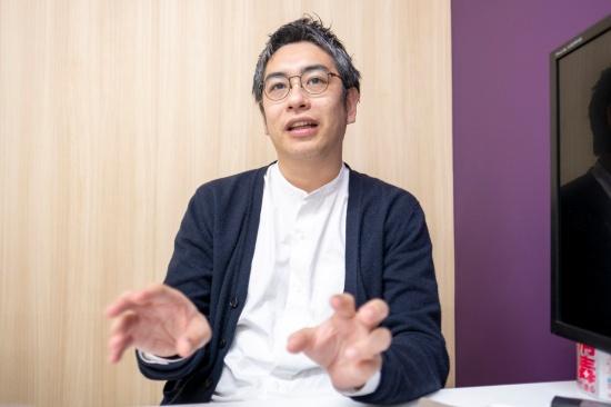 CureAppで最高医療責任者を務める谷川氏(写真:小口正貴)