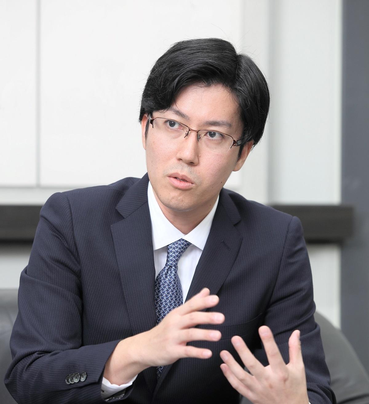 AMI代表取締役CEOの小川晋平氏。熊本大学医学部を卒業した現役医師で、今も循環器内科医として定期的に臨床現場に立っている(出所:AMI、以下同)