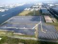 「浮島」と「扇島」、東電の2メガソーラーで発電量に明暗、パネルの現地点検も実施