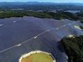 日本最大・260MWのメガソーラー、美作市に稼働