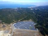 関空の土砂採取跡、公民連携による大和リースのメガソーラー